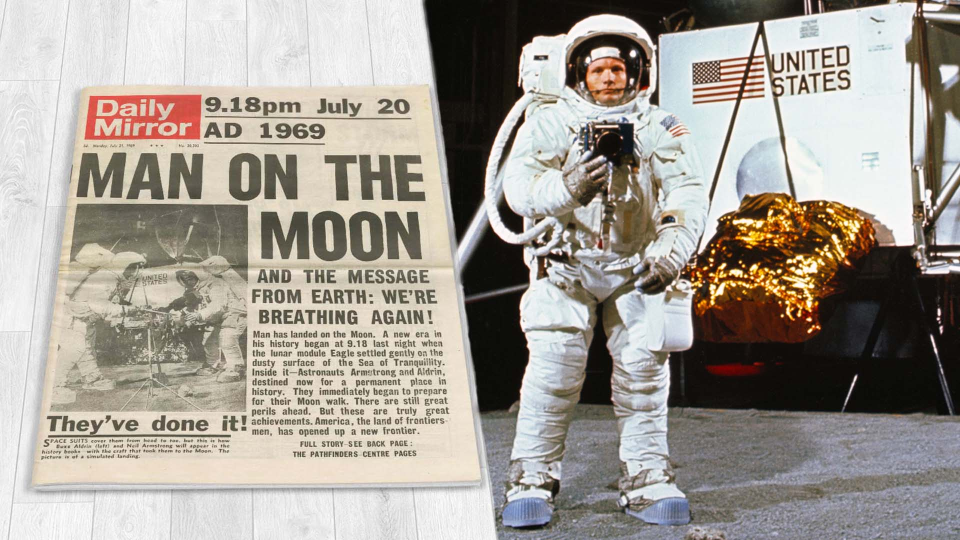 How NASA And Stanley Kubrick Faked The Moon Landing